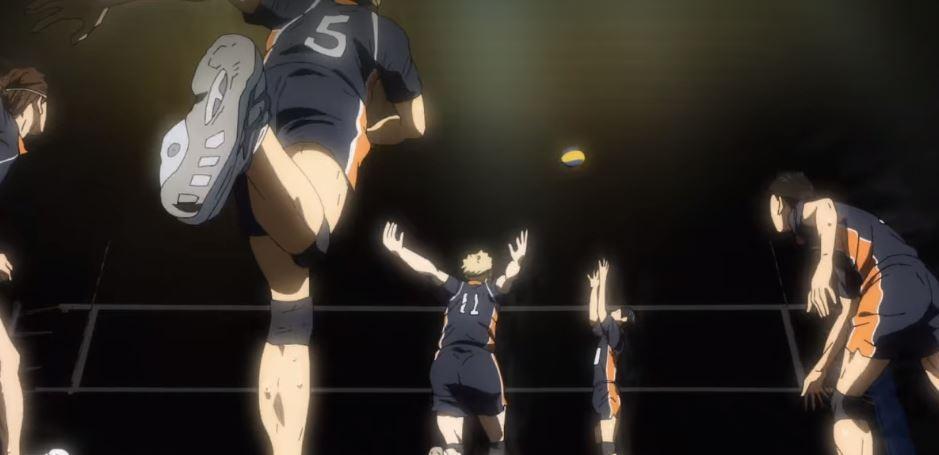 Anime Sport Haikyuu. (Netflix)