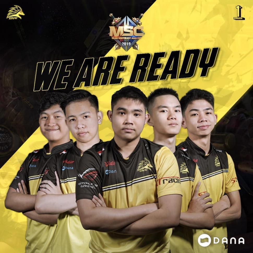 Tim ONIC wakili Indonesia di MSC 2019. (Instagram/ @onic.esports)