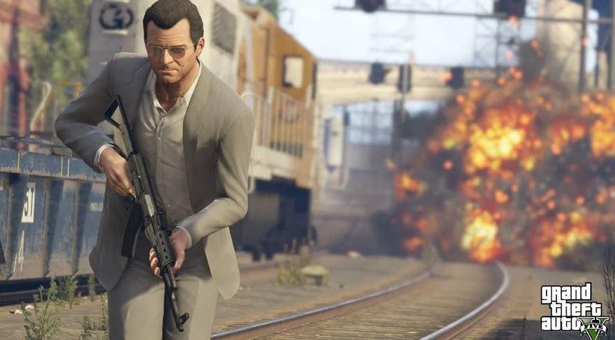 GTA V. (Rockstar Games)