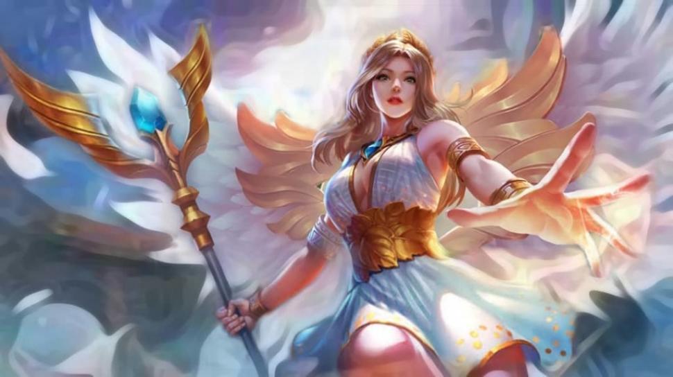 Hero Rafaela. (Mobile Legends)