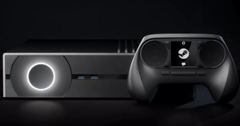 Ilustrasi konsol dari Valve. (Future via Tech Radar)
