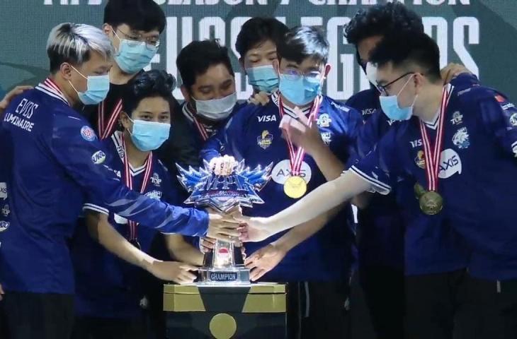 EVOS Legends di Grand Final MPL Season 7. (youtube/MPL Indonesia)