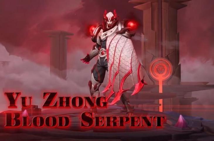 Skin Collector Yu Zhong Blood Serpent. (YouTube/ Mobile Legends Bang Bang)