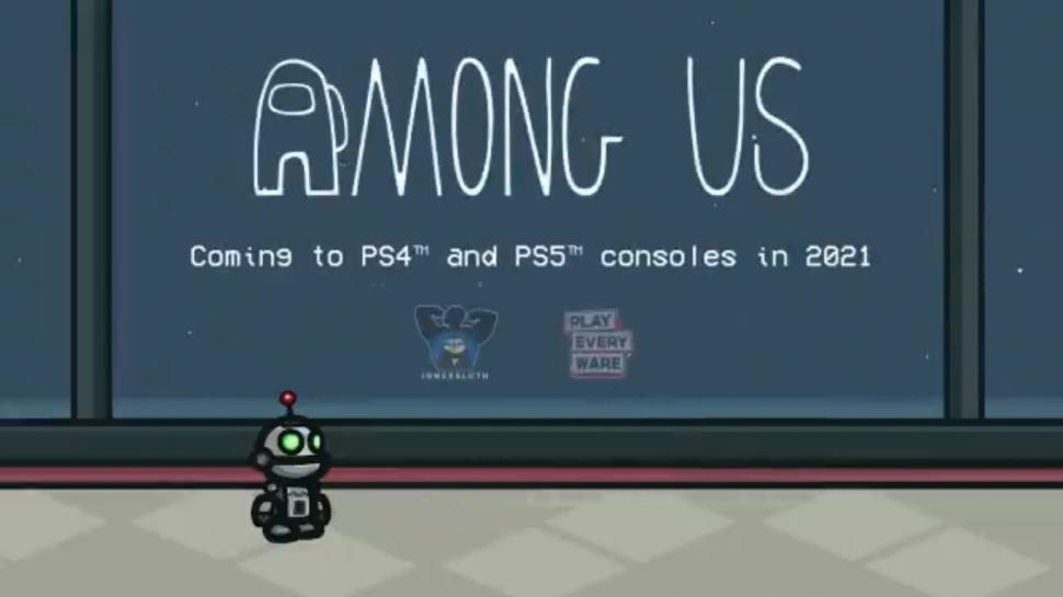 Among Us diboyong ke PlayStation. (Twitter/@AmongUsGame)