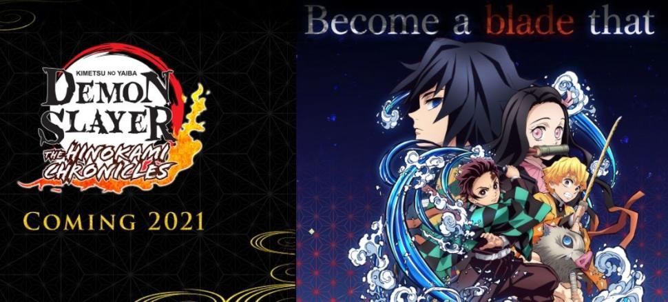 Game Demon Slayer Kimetsu no Yaiba The Hinokami Chronicles. (Sega)