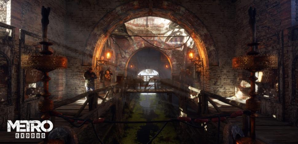 Metro Exodus PC Enhanced Edition. (4A Games)
