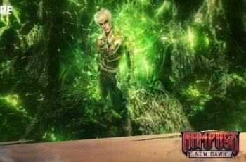 Free Fire - Bundle Male Rampage: New Dawn the Shadow Earthshaker. (Garena)