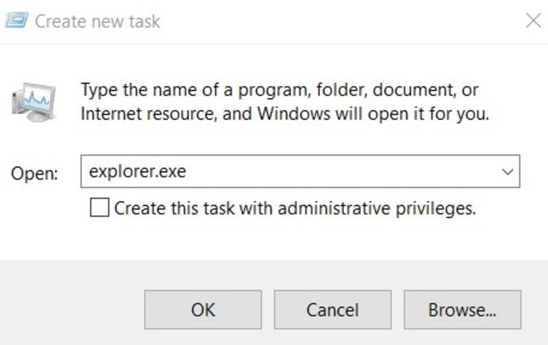 Kesalahan File Mulai Tugas Baru