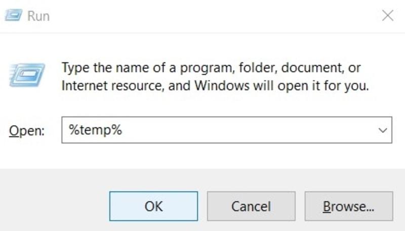 Kesalahan File Jalankan Tugas File Temp