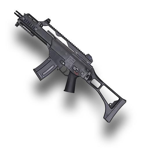 Senjata PUBG Mobile Terbaik - G36C. (PUBG)
