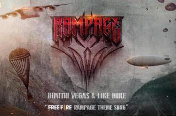 """DJs Dimitri Vegas & Like Mike Ramaikan Free Fire Dengan Lagu """"Rampage"""". (Garena)"""