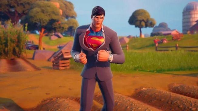 Skin Superman Baru Fortnite. [Screenrant]