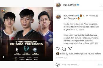3 tim Mobile Legends terkuat di Asia Tenggara. (instagram/MPL Indonesia)