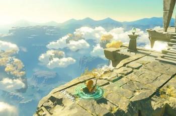 Trailer Legend of Zelda Breath of the Wild 2 menampakkan Link menembus objek. (YouTube/ Nintendo)