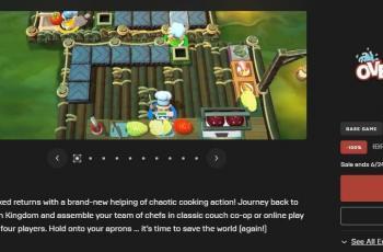Overcooked 2 jadi game gratis di Epic Games Store. (EGS)