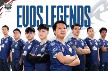 Roster EVOS Legends. (instagram/MPL Indonesia)