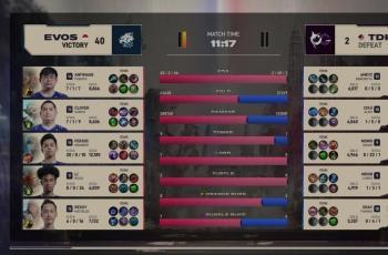 EVOS Legends vs TODAK Malaysia di MSC 2021. (MPL Indonesia)