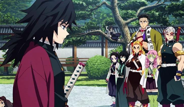 Karakter pada Demon Slayer Kimetsu no Yaiba. (IMDB)