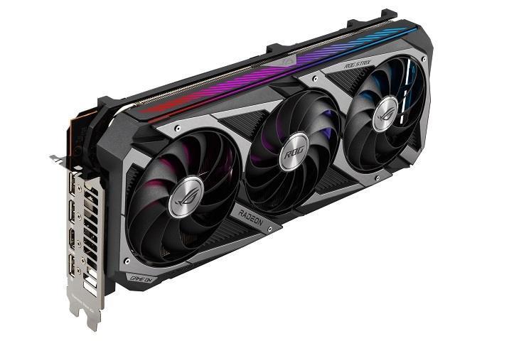 Asus ROG Strix Radeon RX 6700 XT. (Asus)