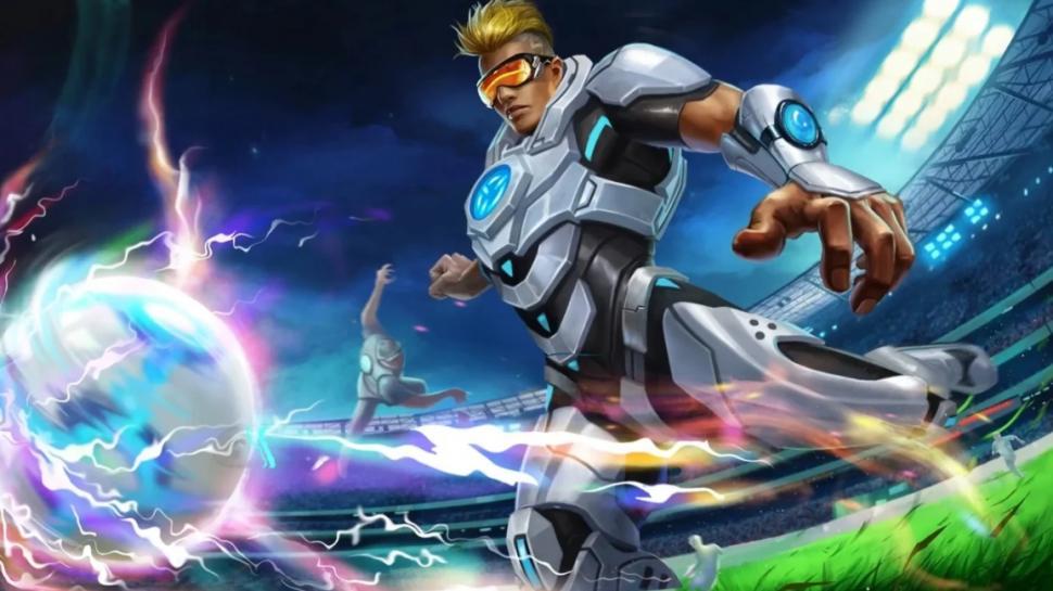 Hero Bruno. (Mobile Legends)