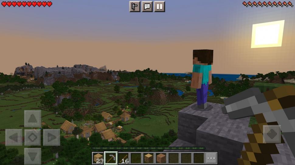 Minecraft. (Google Play Store)