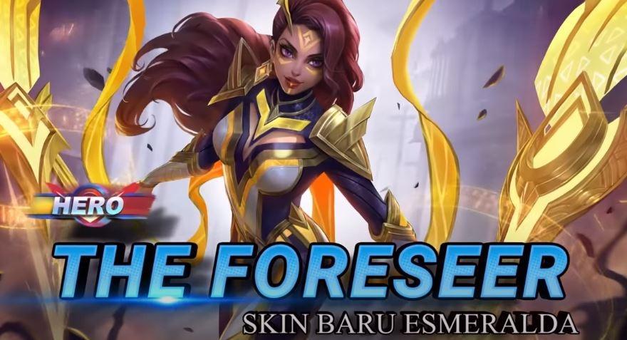 Skin baru Esmeralda The Foreseer. (YouTube/ Mobile Legends Bang Bang)