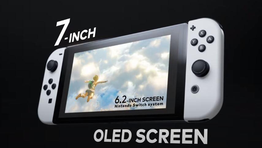 Nintendo Switch anyar dengan layar OLED. (YouTube/ Nintendo)