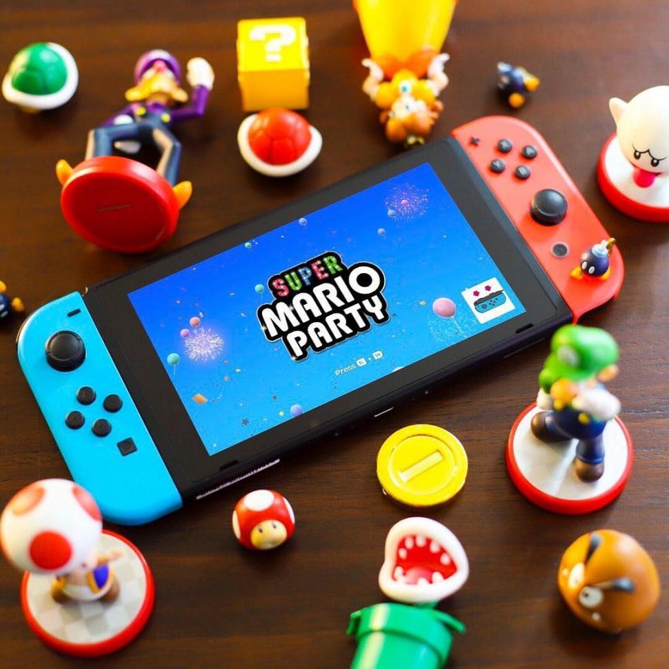 Super Mario Party di Nintendo Switch. (Nintendo)