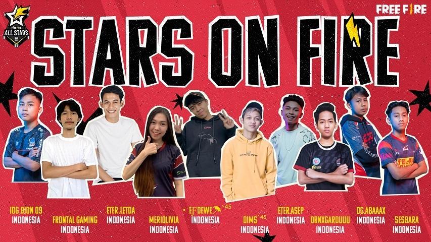 Free Fire All-Stars 2021 Asia. (Garena)